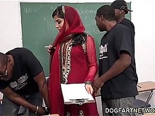 Nadia Ali Gets Gang Banged By Students