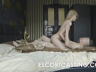 Skinny Blonde Teen Escort Anal Casting 13 min