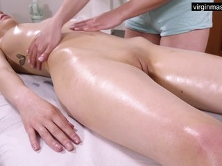 Ira Pizdunka Gets Her Virgin Tits Massaged