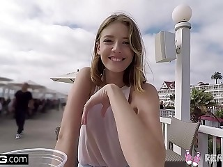 Real Teens - Teen POV pussy play in public 12 min