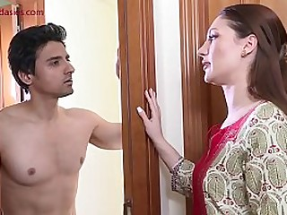 College going foreign student fucked by landlord's wife