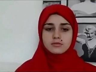Arab teen goes nude