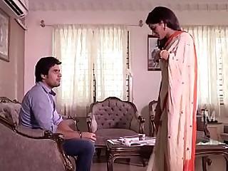 Indian couple kiss passionate romance