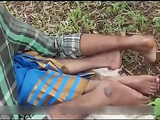 Indian supper Hot village Aunty sex in outdoor with friend