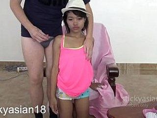 Teenie Asians Sticky Mouth Fuck! StickyAsian18